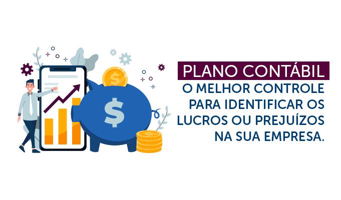 Plano Contábil, o melhor controle para identificar os lucros ou prejuízos na sua empresa.